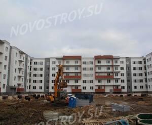 Малоэтажный ЖК «Новый Петергоф»: ход строительства корпуса 4.4