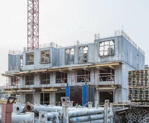 ЖК «Палацио»: ход строительства этап №1