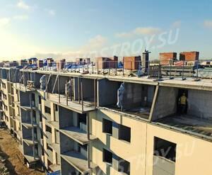 Малоэтажный ЖК «Финский городок Юттери»: ход строительства 3 очереди из группы застройщика