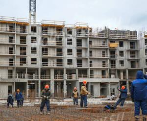 ЖК «Ренессанс»: ход строительства секции А