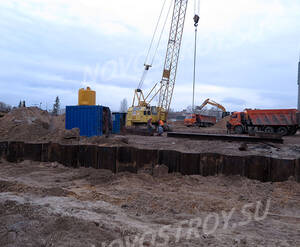 ЖК «Кирилл и Дарья»: ход строительства участок №3
