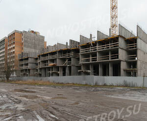 ЖК «Ломоносовъ» (Петродворцовый): ход строительства корпуса №1