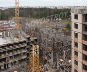 ЖК «Ломоносовъ» (Петродворцовый): ход строительства корпуса №2