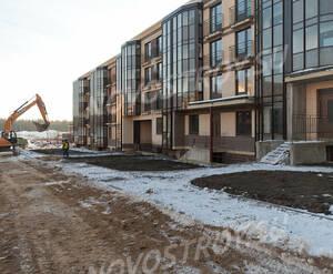 Малоэтажный ЖК «Чистый ручей»: ход строительства корпуса №2