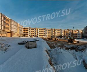 Малоэтажный ЖК «Чистый ручей»: ход строительства корпуса №3