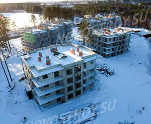 МЖК «Горки Парк»: ход строительства, январь 2018