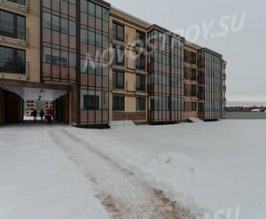 Малоэтажный ЖК «Чистый ручей»: ход строительства корпуса №1