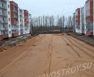Малоэтажный ЖК «Новый Петергоф»: ход строительства корпуса №4.4