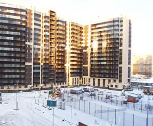 ЖК «Солнечный»: ход строительства корпуса №11 из группы застройщика
