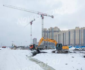 ЖК «Северная долина»: ход строительства 13 очереди
