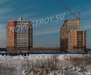 ЖК «Северный вальс»: ход строительства корпуса №1,2