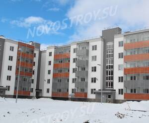 Малоэтажный ЖК «Новый Петергоф»: ход строительства корпуса №4.5