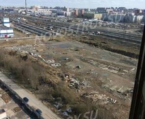 ЖК на Брюлловской улице: строительная площадка