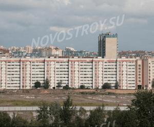 ЖК на Богатырском проспекте, 40: площадка перед строительством