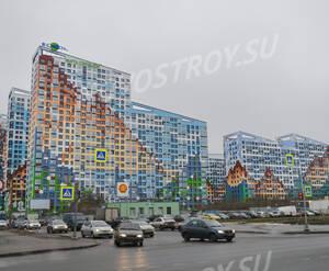ЖК «Светлый мир «О, Юность...»: 2 очередь, ход строительства март 2018