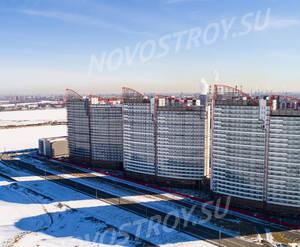 ЖК «Паруса»: ход строительства квартала №6
