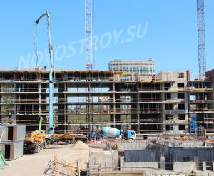 ЖК «Георг Ландрин»: ход строительства, май 2018