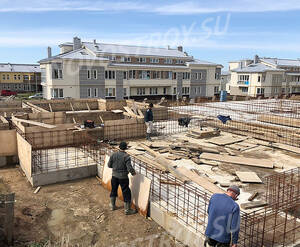 Малоэтажный ЖК «Петровская мельница»: ход строительства блока C8
