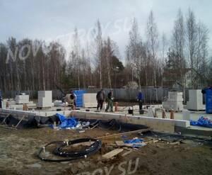 Малоэтажный ЖК «Ломоносовская усадьба»: ход строительства ТХ 5
