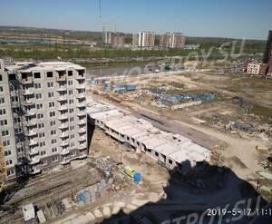 ЖК «ТриДевяткино царство»: ход строительства корпуса №11, май 2019