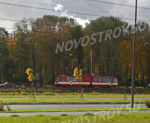 <p>Остановка трамвая рядом с жилым комплексом «Жемчужная премьера»</p>