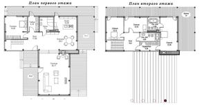 КП «Суходольское», планировка 5-комнатной квартиры, 306.80 м²