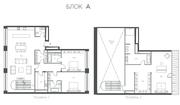 ЖК «Cloud Nine», планировка 4-комнатной квартиры, 248.40 м²