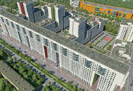 Novostroy.su о ЖК «Акварели»: комплекс окружен гаражами, автостоянками и кладбищем