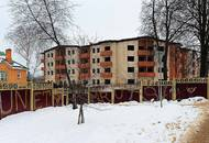 МЖК «Донской»: работы по укладке наружных стен завершены