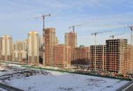 Строительство 3 очереди ЖК «Триумф парк»: строители приступили к работам по остеклению