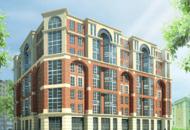Строительство ЖК «Шерлок Хаус» находится на уровне третьего этажа