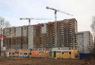 Строительство ЖК «Стереос» вышло на стадию наружных отделочных работ