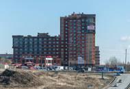 Строительство ЖК «Никольское»: рабочие готовы приступить к фасадным работам