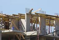 В ЖК «Берёзки» идут работы на последних этажах корпусов 1 и 2