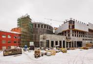 Строительная готовность комплекса «Пресня Сити» достигла 10 этажа