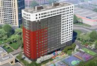 В ЖК «КосмосSTAR» возведена «коробка» здания