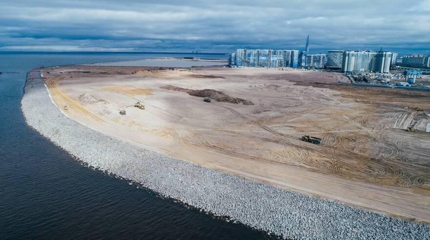 На новом намыве Васильевского острова построят 800 тысяч «квадратов» жилья